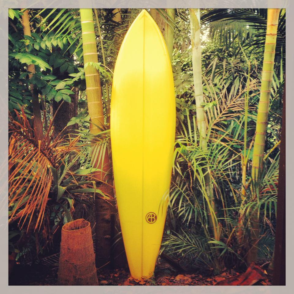 6'10'' Yellow Single FIn