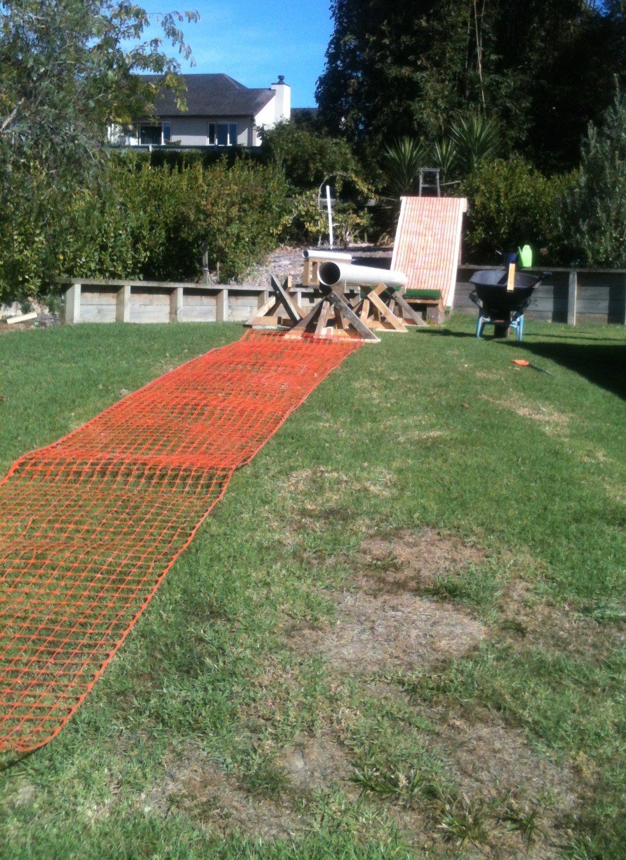 Just finished my backyard setup
