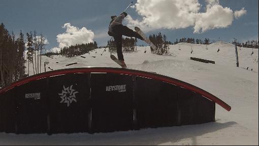 One ski rainbowrail