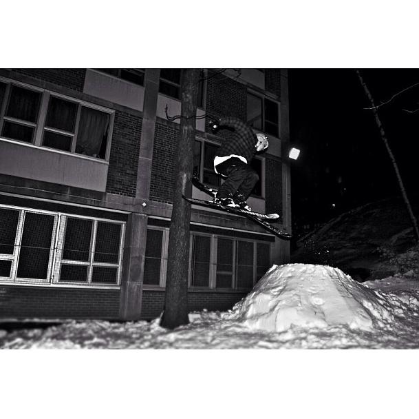 Backyard jump