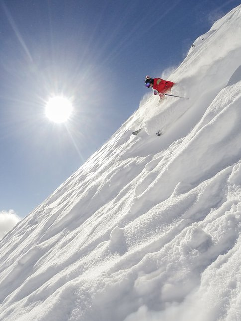 Steep and deep!