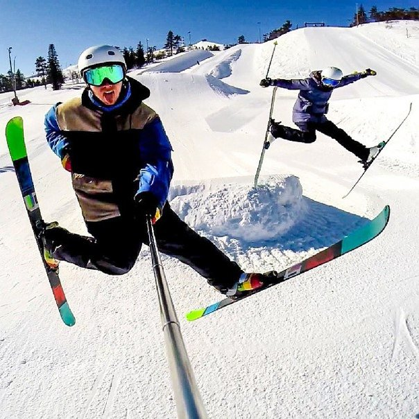 Saturday gopro selfie! Have a nice day :)