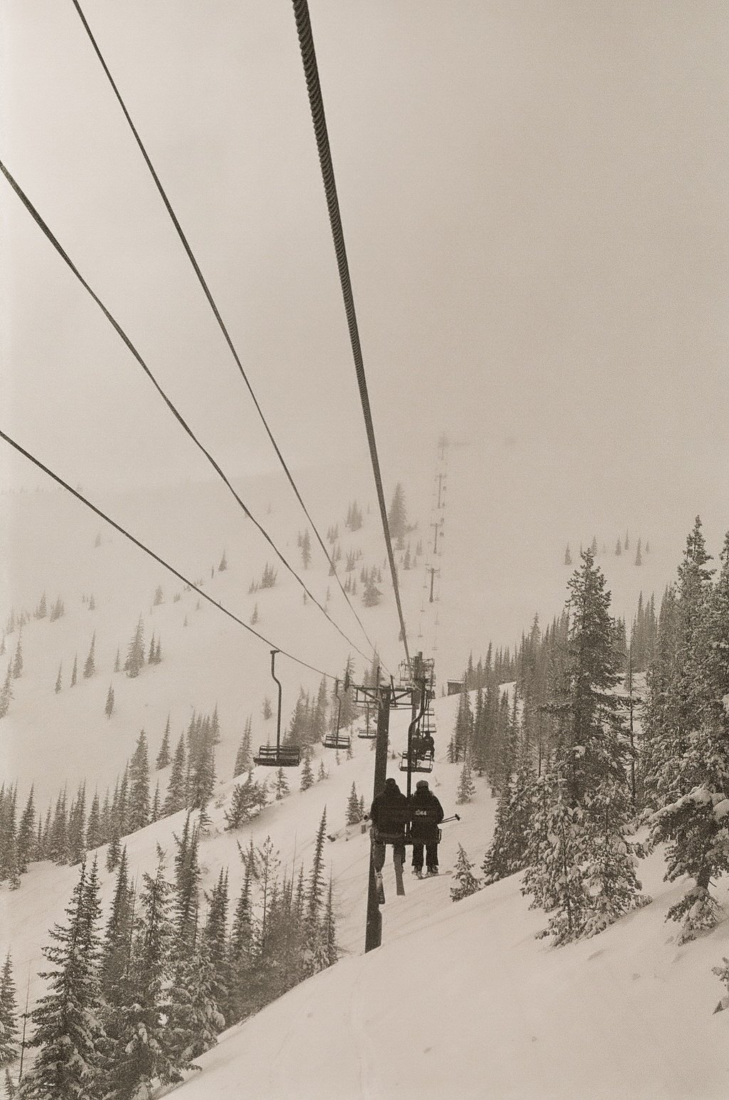 Foggy Lift Line