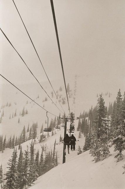 Foggy Lift Line