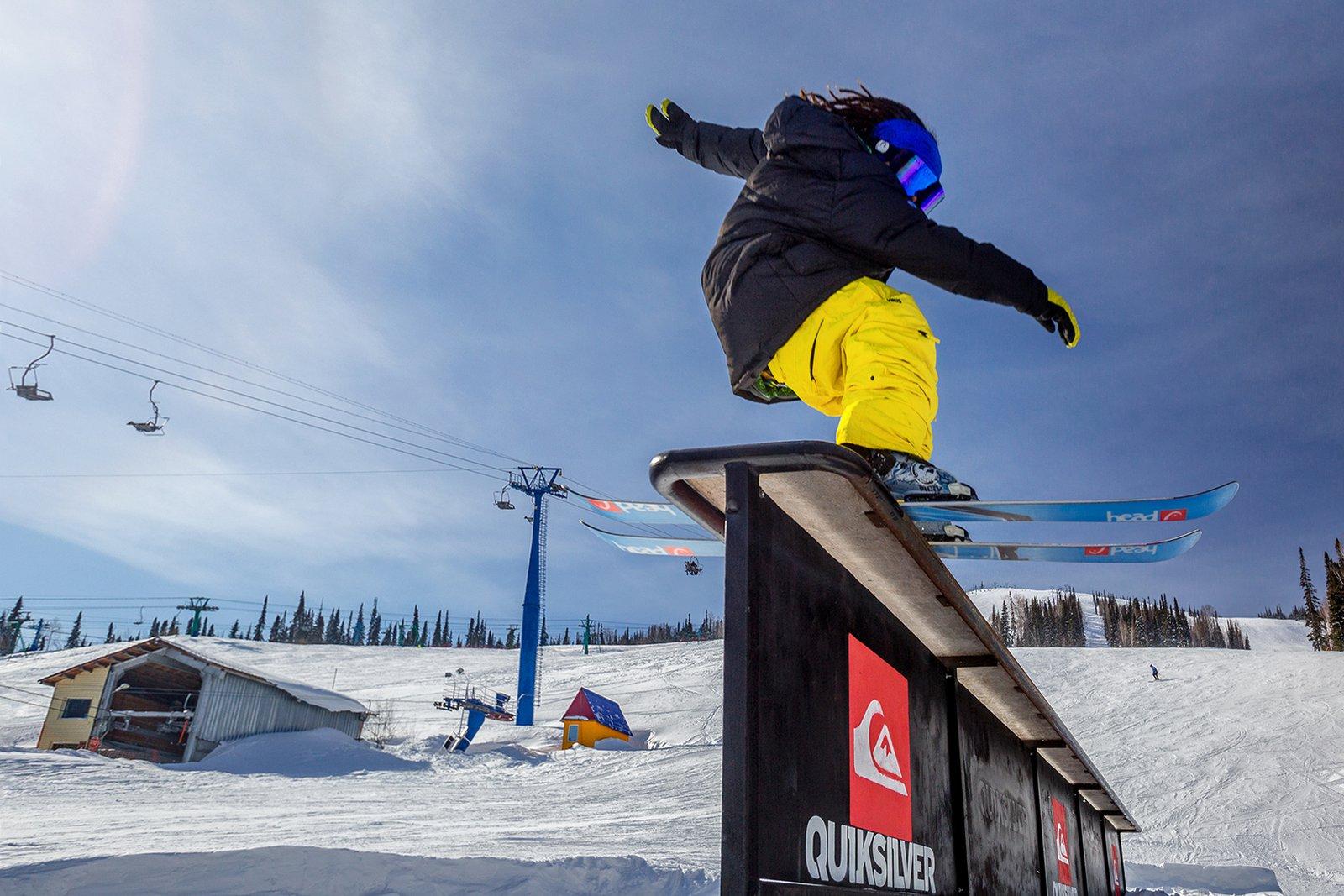 Skislide by Andrey Anufriev