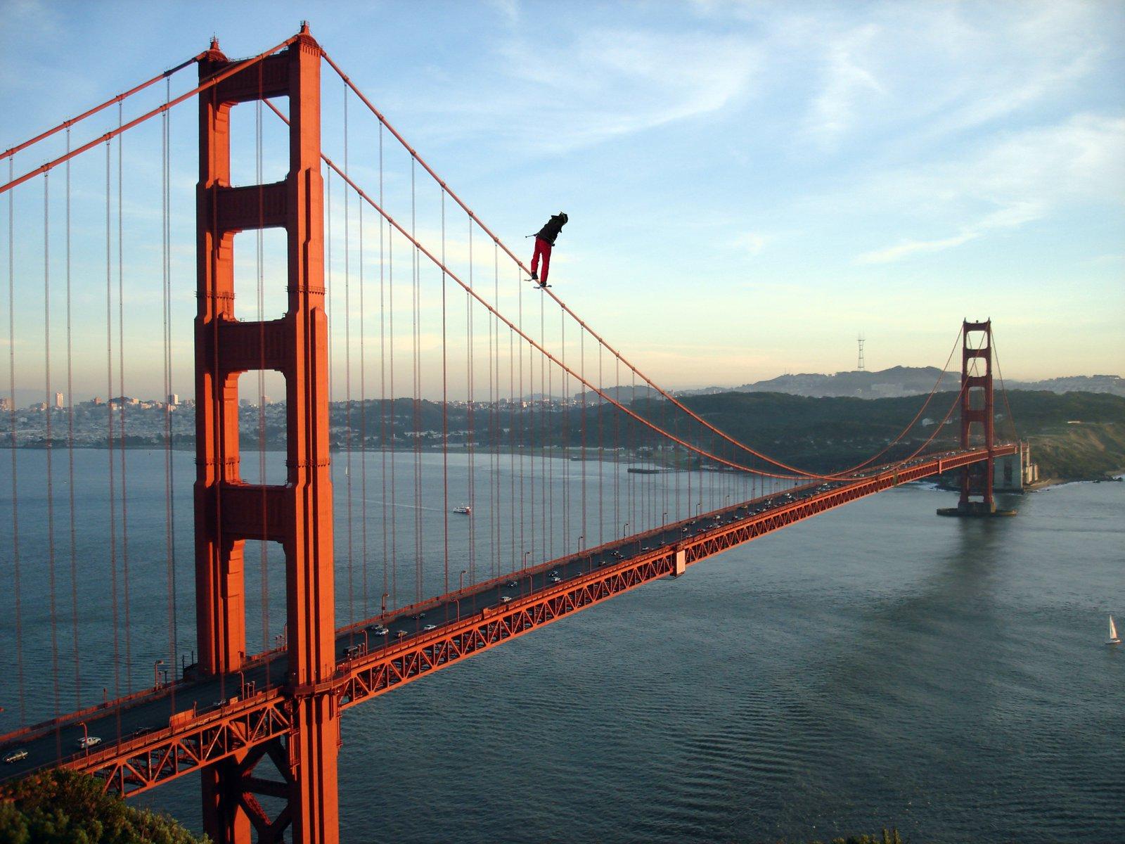 Golden Gate Bridge Rail Slide