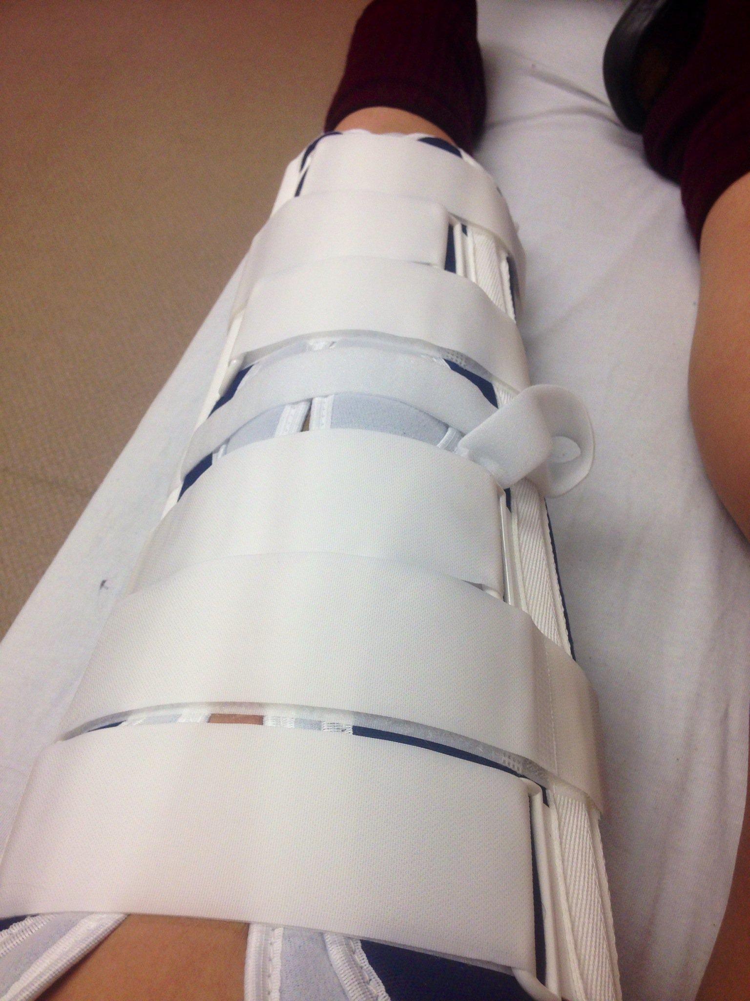 Blown up Knee