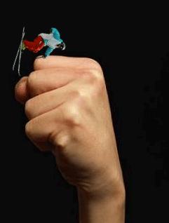 Hand drag over knuckles