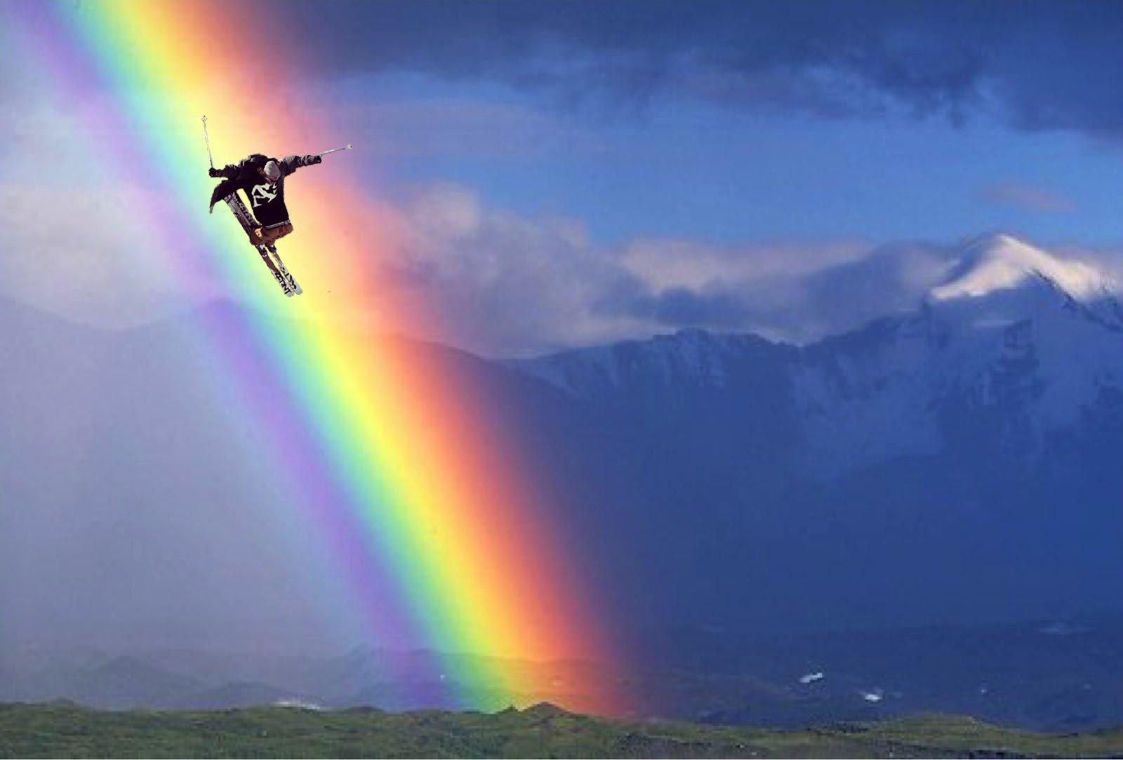Rainbow Drop-In