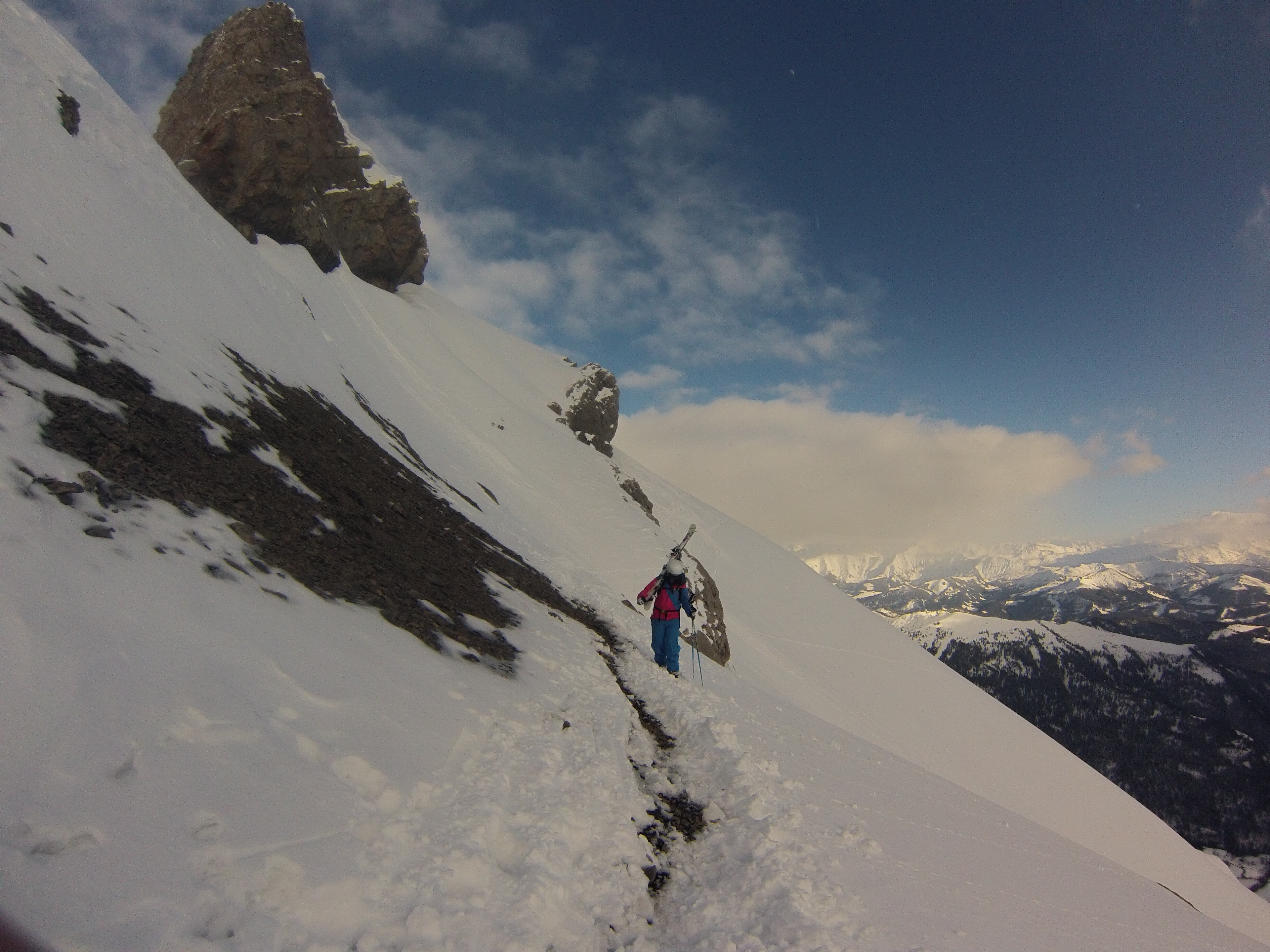 Final Ascent to Aravis Gates