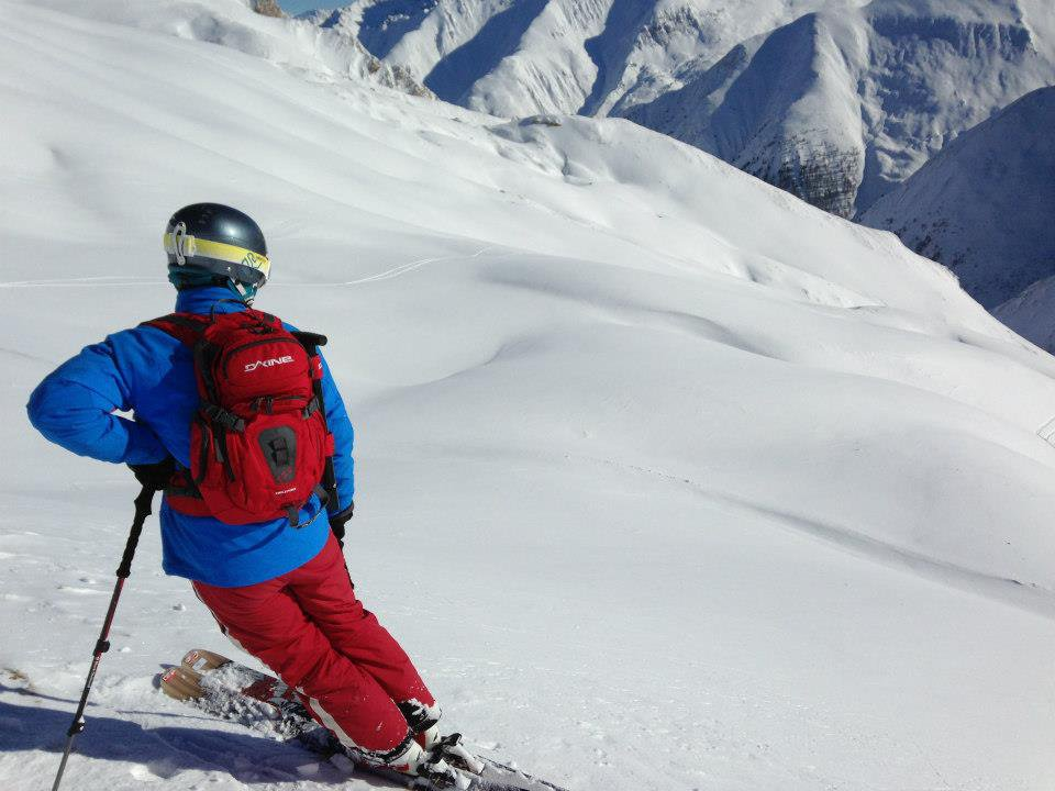 Found that unspoiled stretch of powder