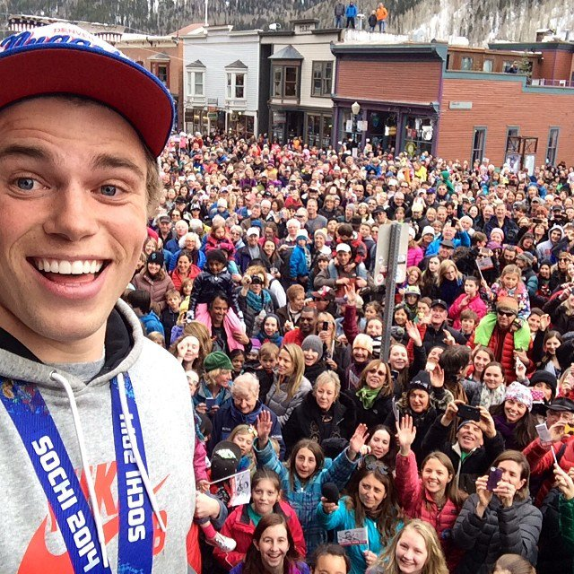 """SONY Signs Gus Kenworthy to """"Team Action Cam"""""""
