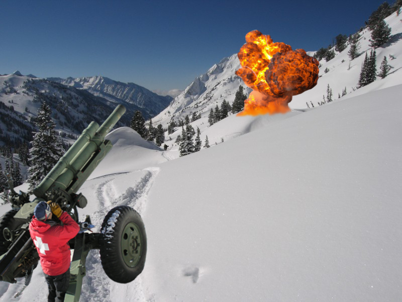 Proof: Ski Patrol Blew It Up