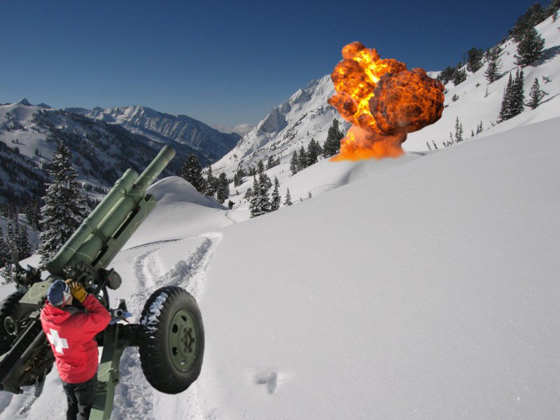 Proof: Ski Patrol Blew It Up