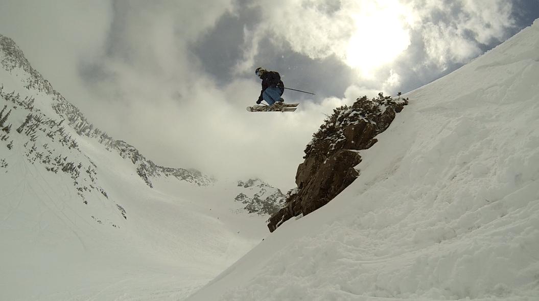 Snowbird Cliff in May