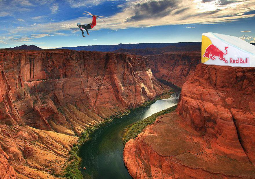 Bflip over the Gand Canyon
