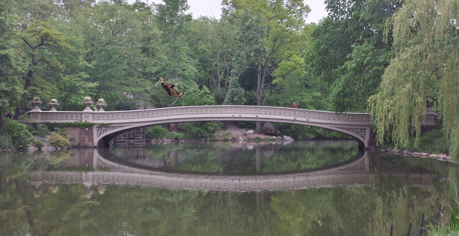 Sliding Central Park