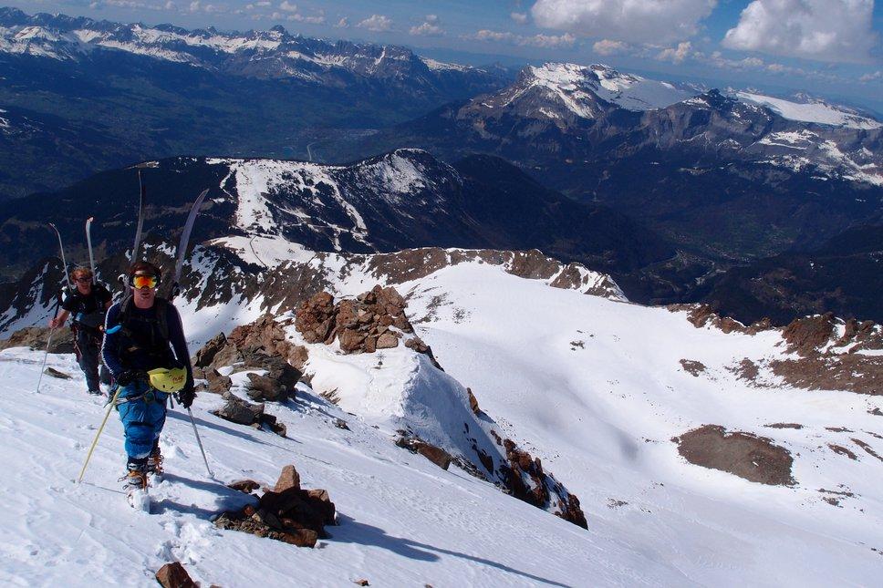 Mont Blanc assent