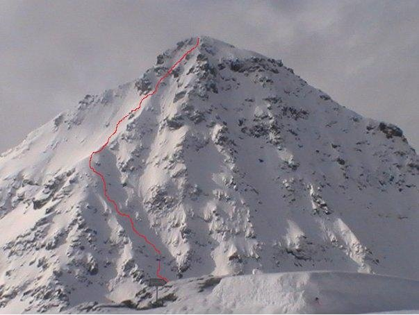 Big Mountain Comps: Picking a line