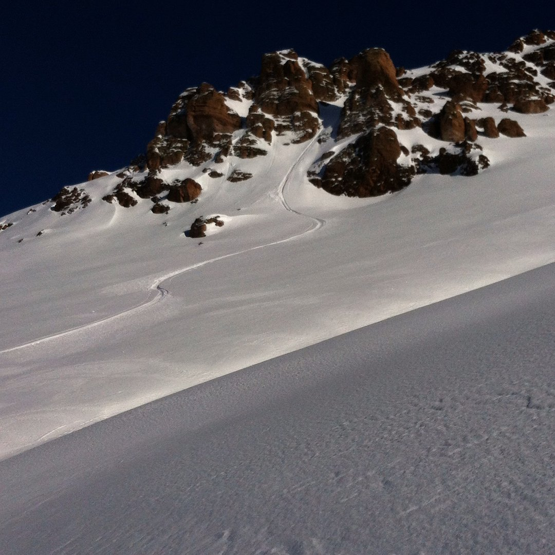 Pow Day Chile