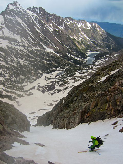 Peak R June Skiing in Colorado