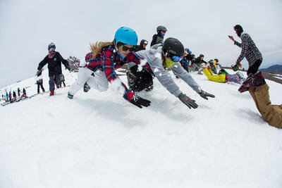 Newschoolers Week at Windells - Penguin Slides
