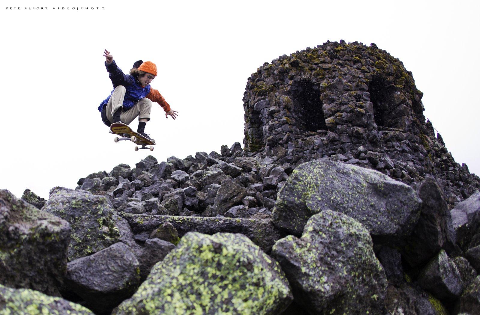 Skating Lava