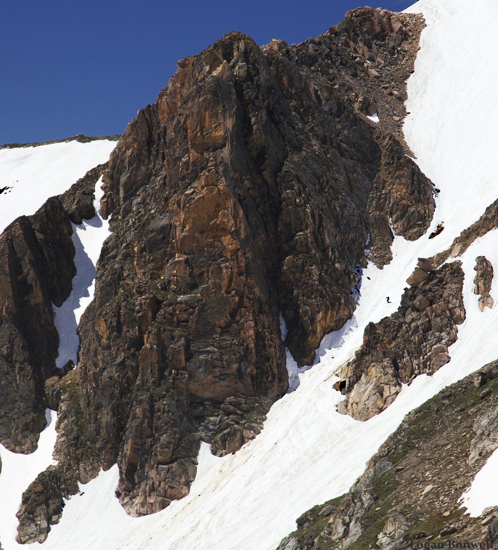 Beartooth Summer turns mid chute