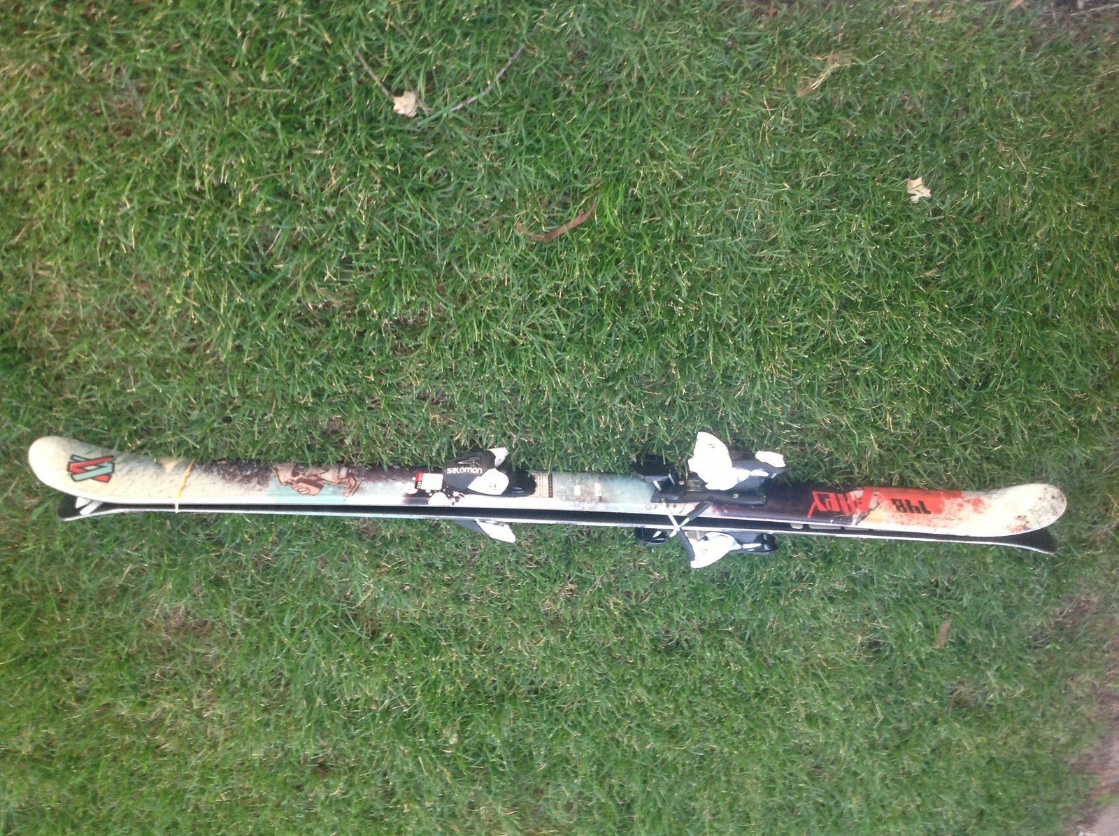 Skis for sale! Used 8-10 times