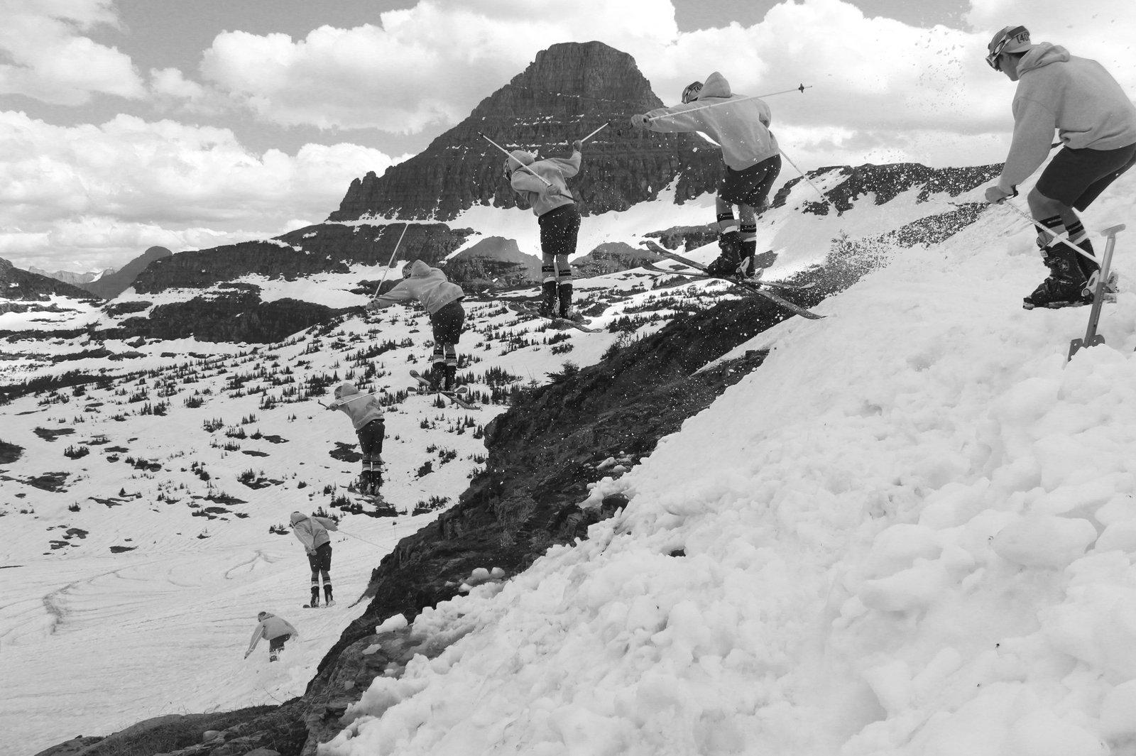 glacier park jump