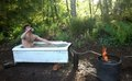 Dirtbag�s Guide to Building a Backcountry Hottub