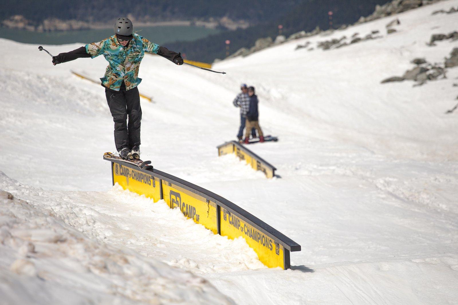 Jay Heule does stuff on skis