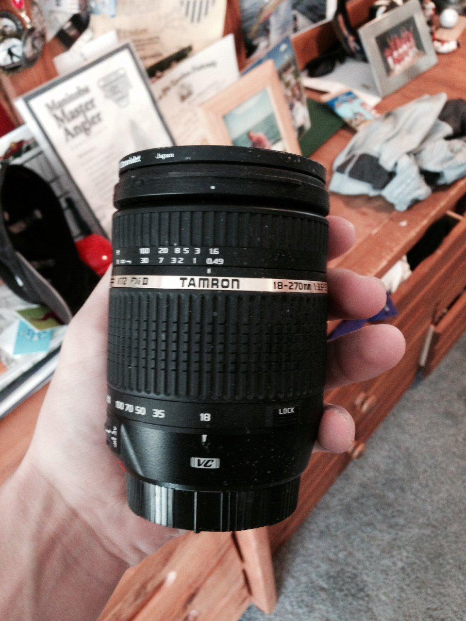FS: Canon 18-270 VC