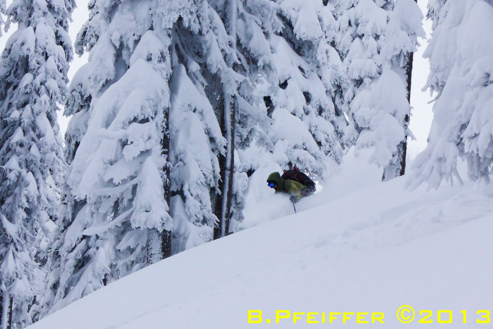 first pow turn of this past season