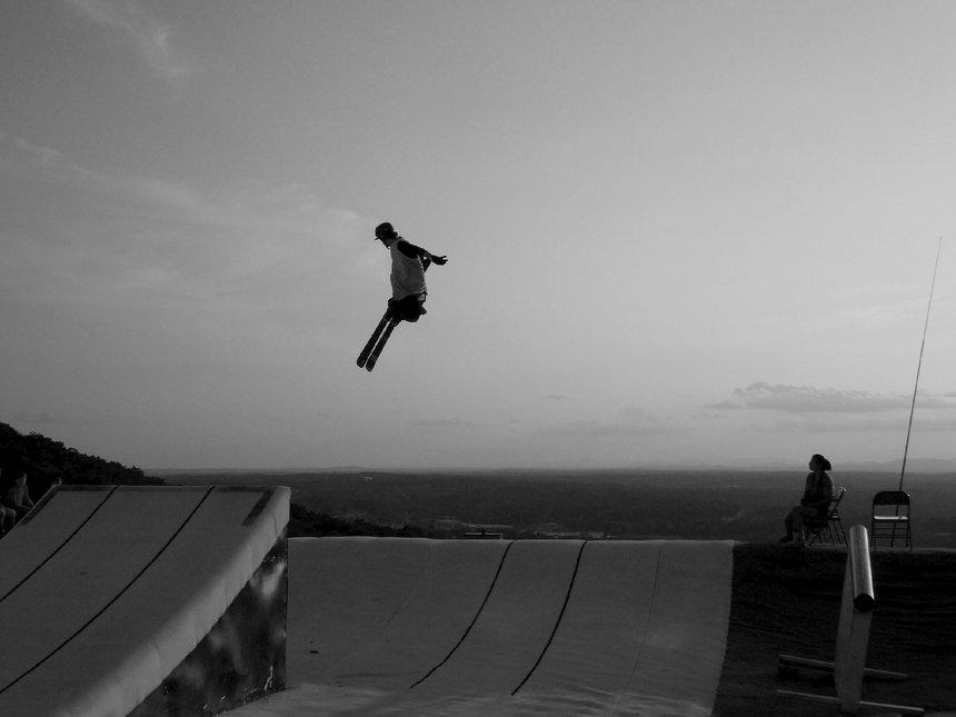 Jump at Snowflex