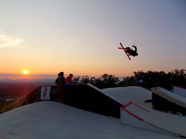 Sunset Session at Snowflex