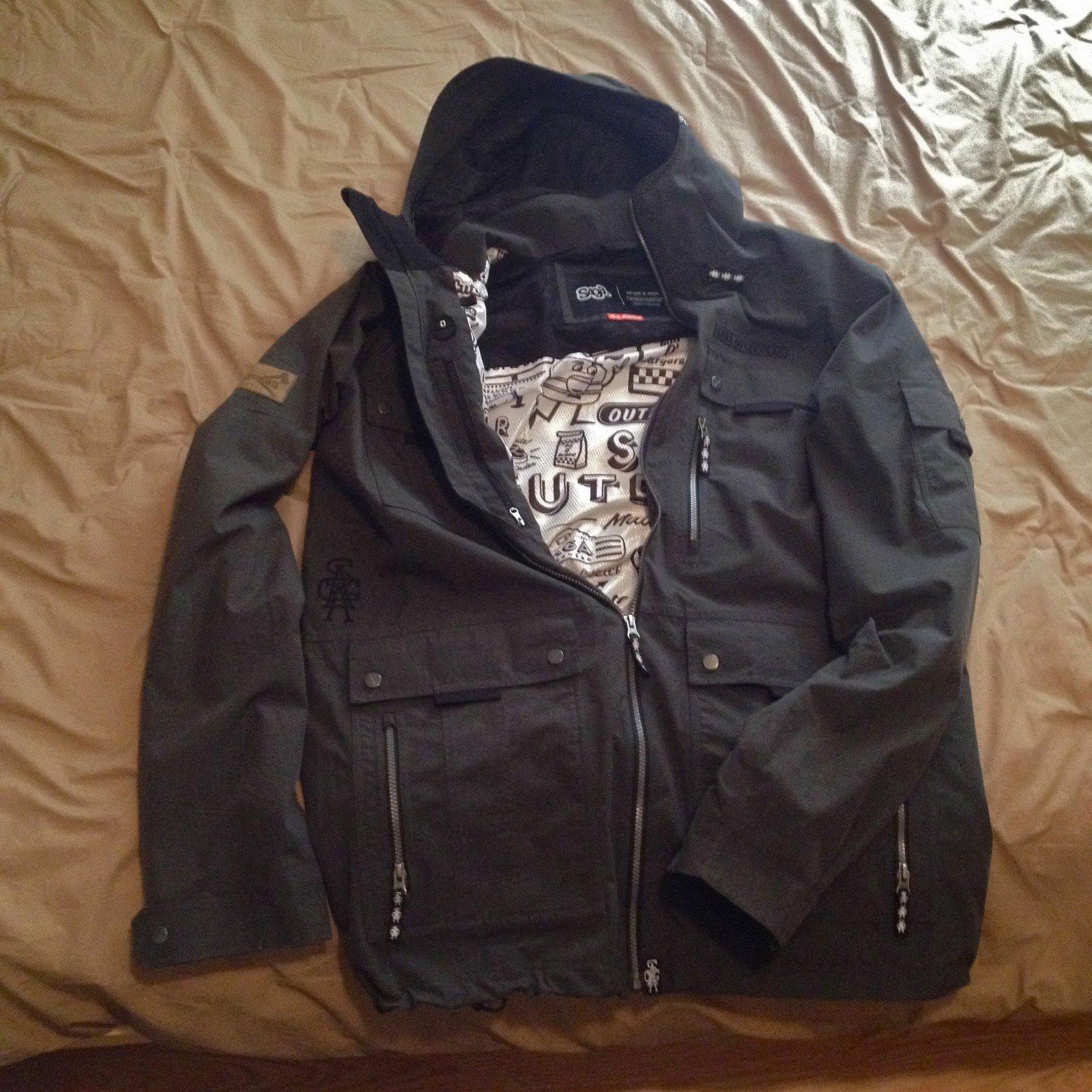 Saga Fatigue Jacket - XL