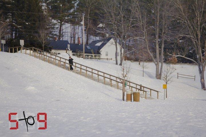 """5 to 9"" wood rail"