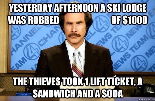 Damn thieves!