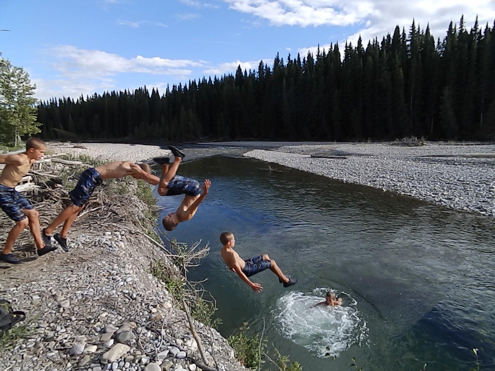 Elbow River Frontflip