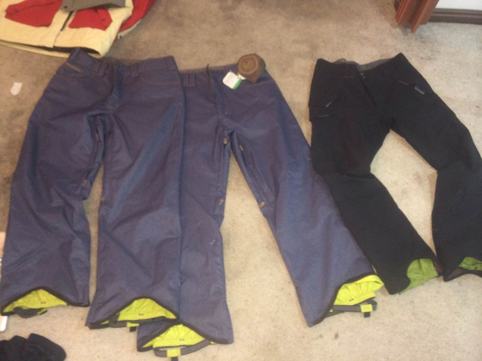 Pm if you want ini new jean pants 2 pairs 80 OBO and black slim fit used 40