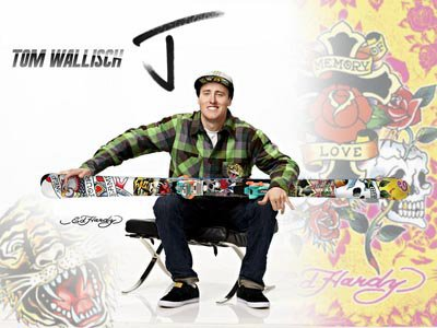 Tom Signs with J skis