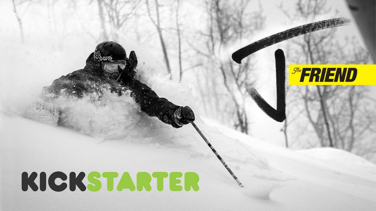 New J Powder Ski on Kickstarter