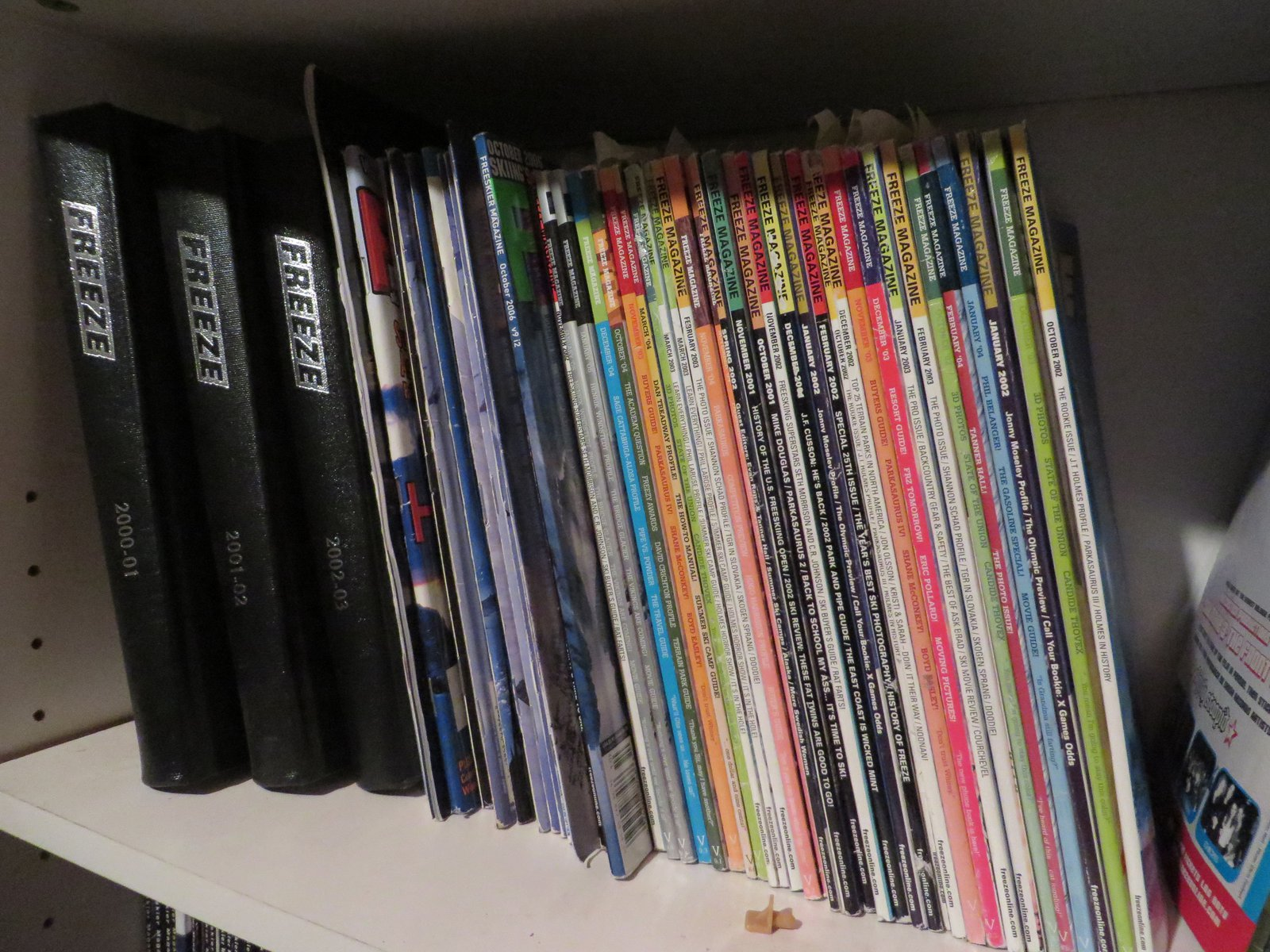 Deep Freeze mag collection