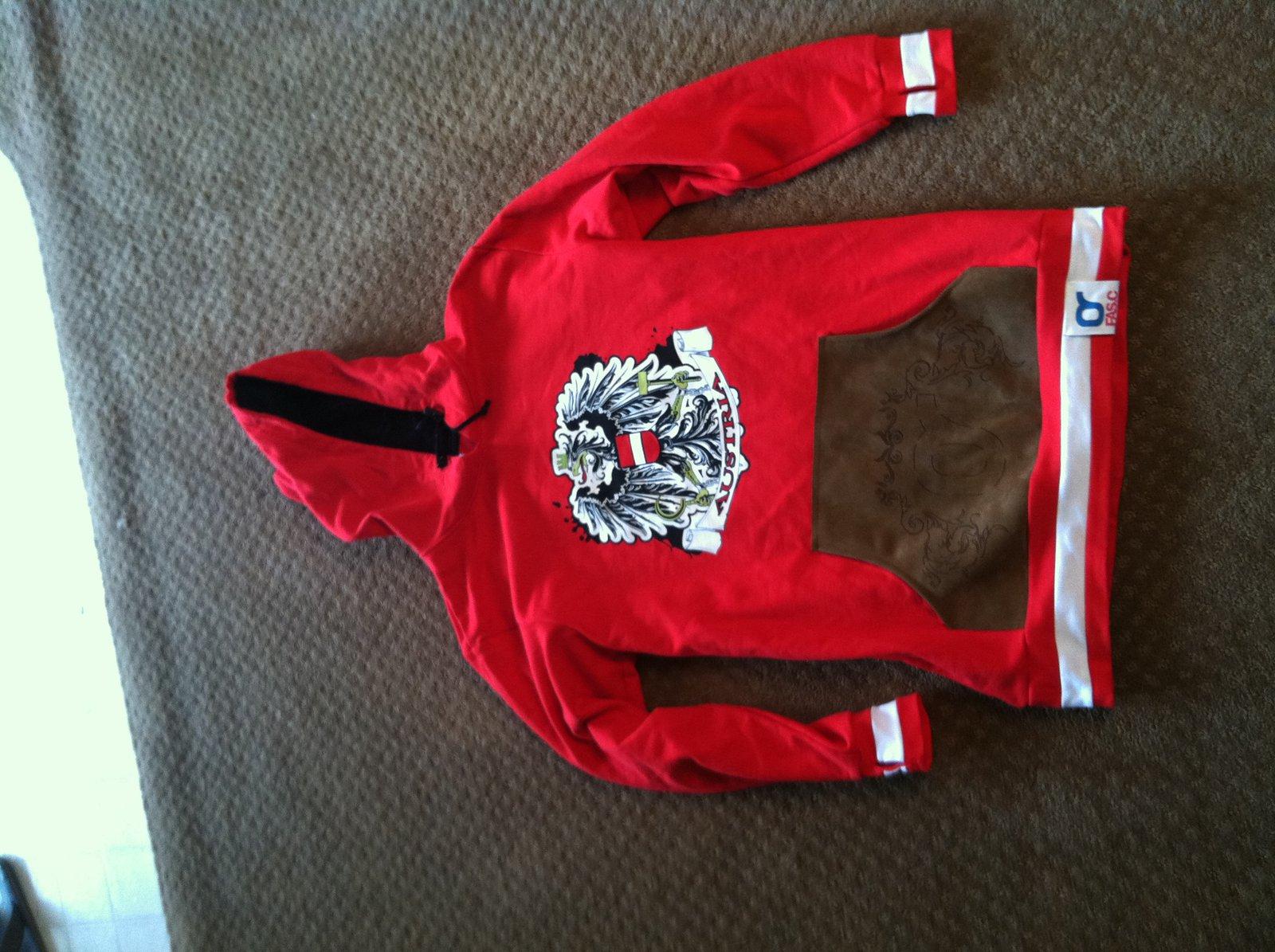 2XL FASC austria hoodie new