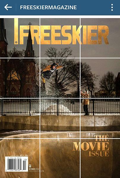 Cam Boll Freeskier Cover