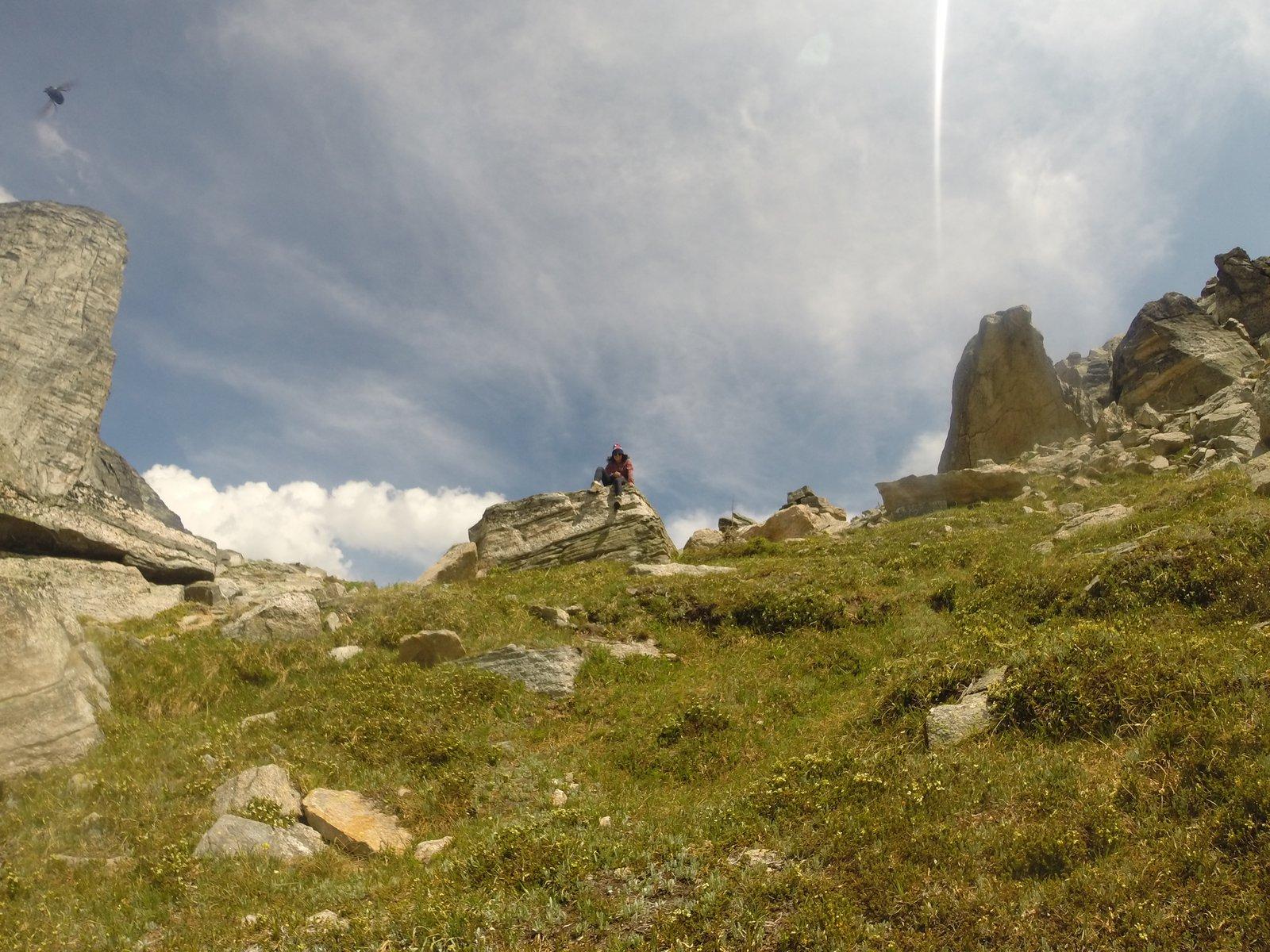Gimli Peak In the Summer