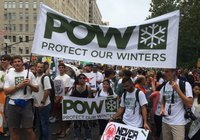 The Skier�s Climate March