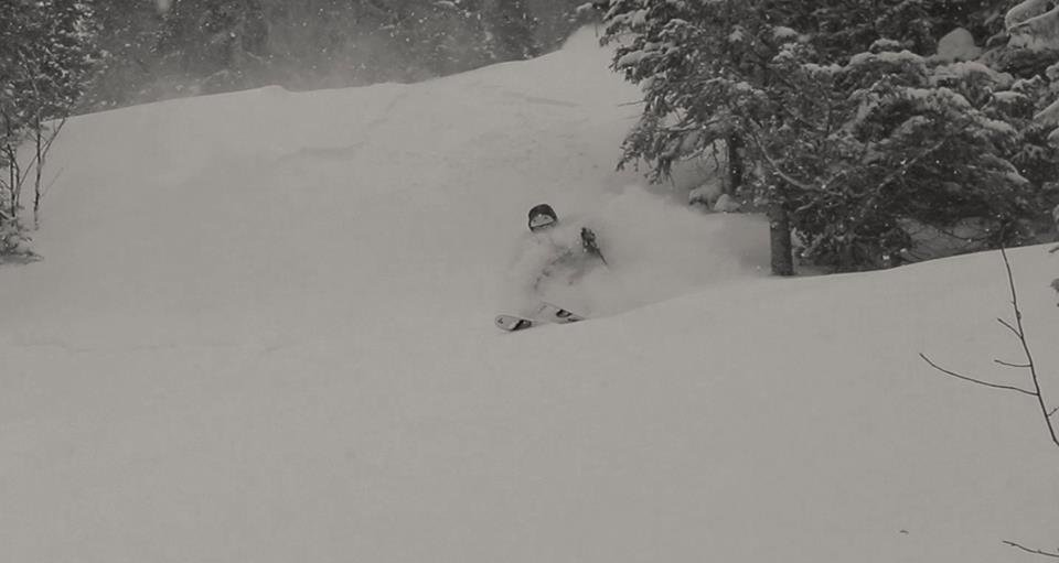 Hot Chic, Backcountry Skiing in Quebec