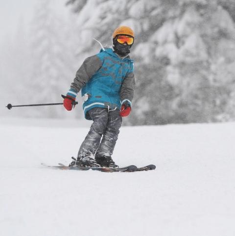 Skiing at whitefish